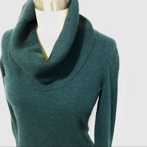 br | cowl neck sweater.